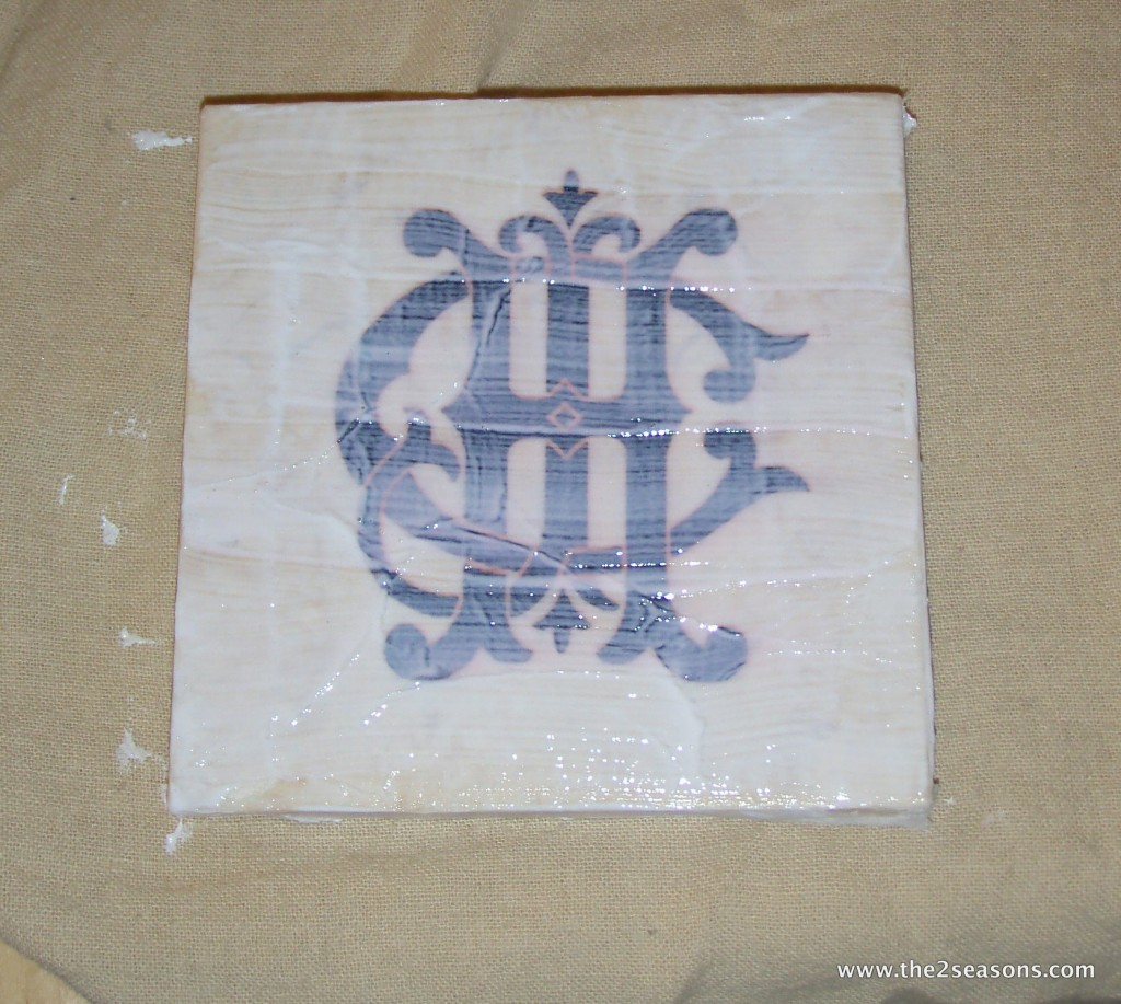 P3100858 1024x917 - Monogrammed Coasters