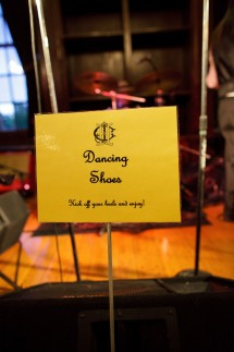 Wedding dancing sign 215x323 - Photo from Eric Graf Photography.