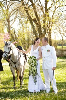Wedding us with horse 215x323 - Photo from Eric Graf Photography.