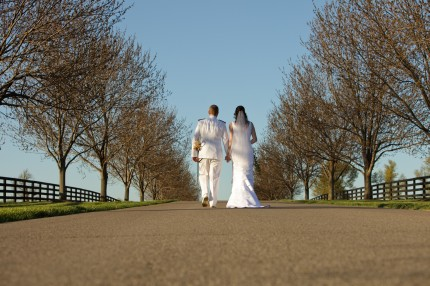 Wedding walkingaway 430x286 - Photo from Eric Graf Photography.