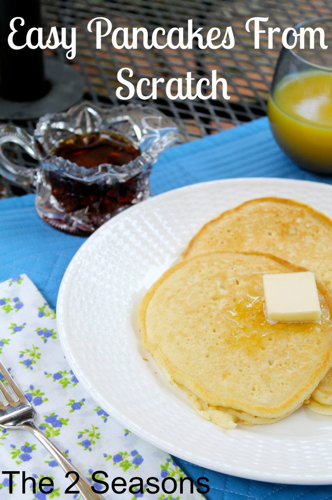Easy Pancakes from Scratch 681x1024 - Pancakes From Scratch