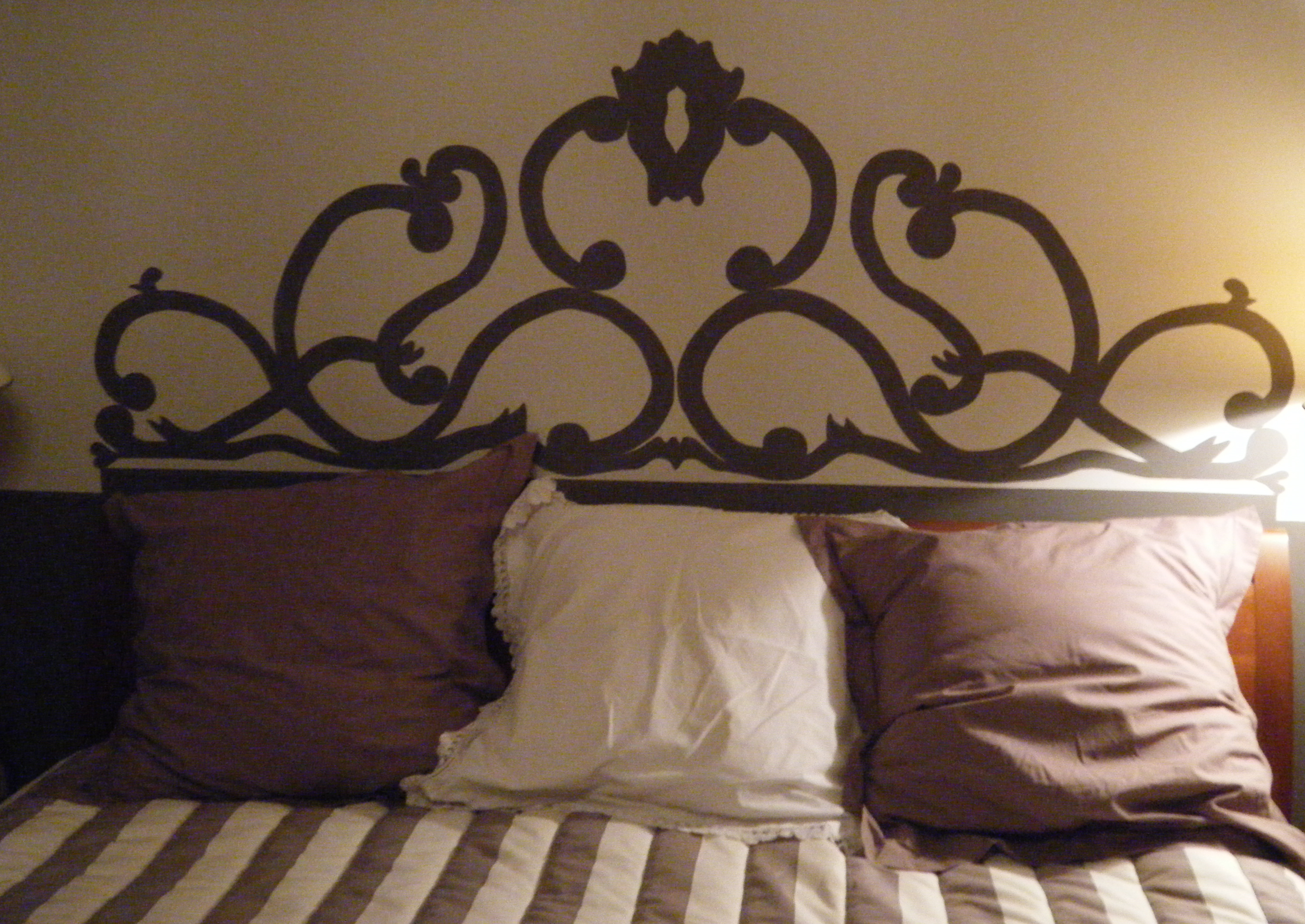 Easy French Headboard