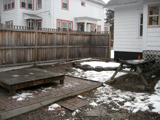 yard before 1 - Backyard Face-Lift, Part 1