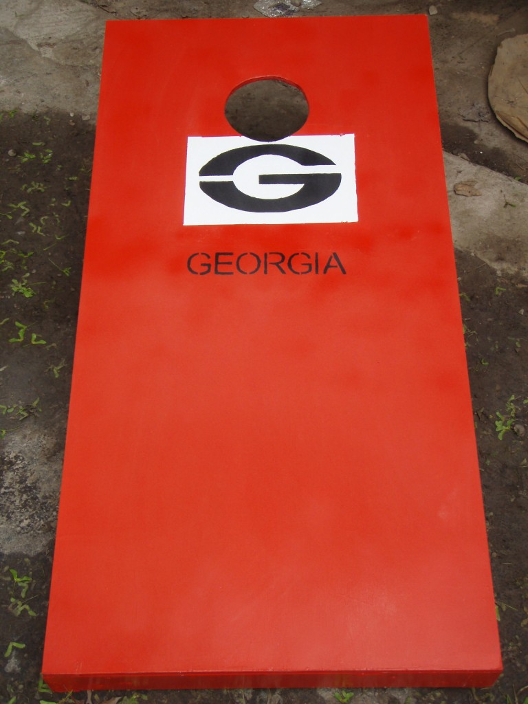 Corn Hole Georgia After 768x1024 - How to make your own Cornhole board