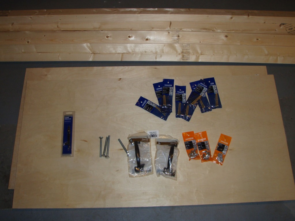 Corn hole supplies 1024x768 - How to make your own Cornhole board