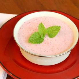 Strawberry soup - The 2 Seasons