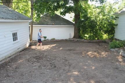 Adding stuff to the soil.