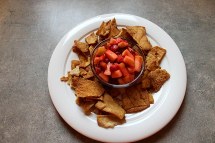 Fruit salsa with chips 430x286 - Fruit Salsa