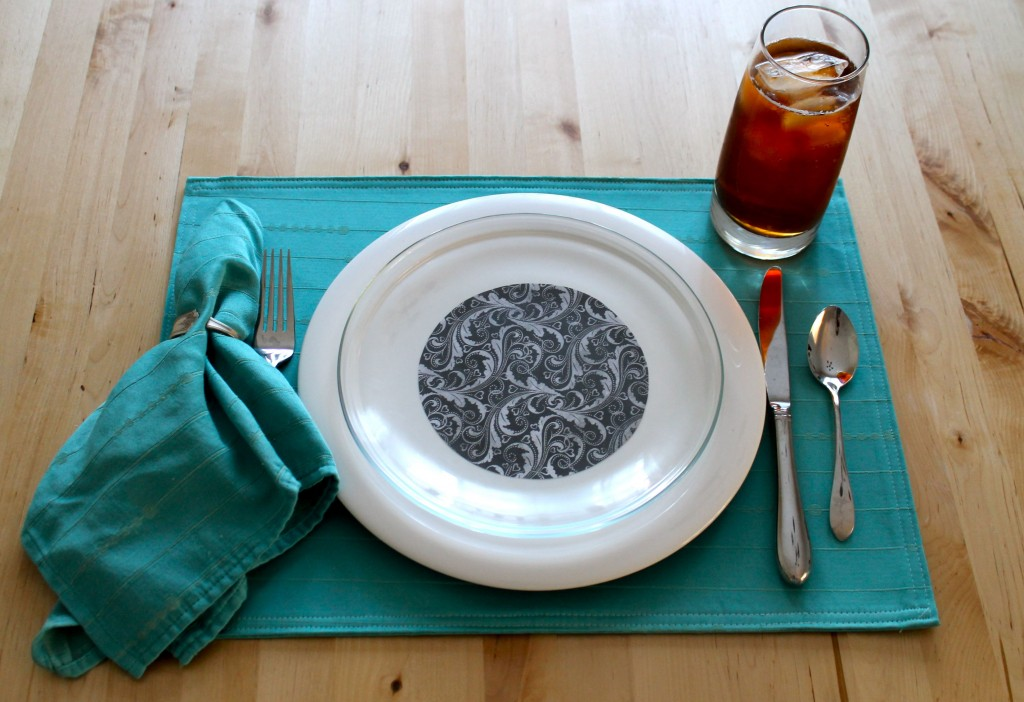 Plate blue 1024x702 - Change the Look of Your Dishes!