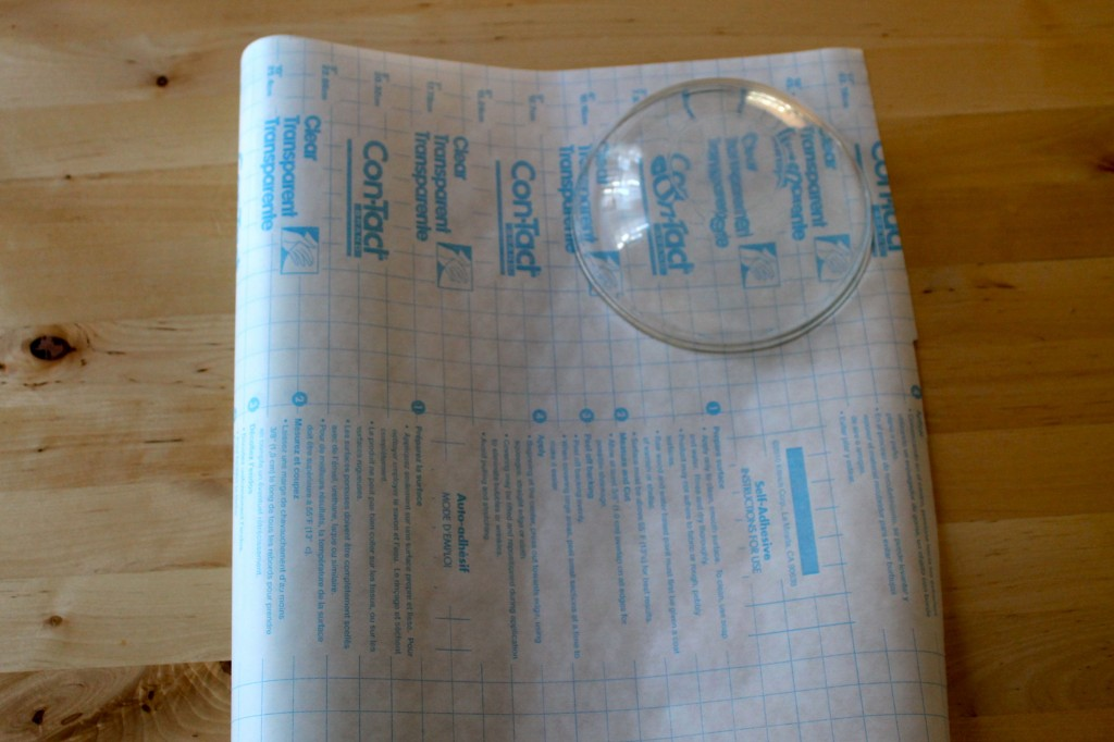 Plate on contact paper 1024x682 - Change the Look of Your Dishes!