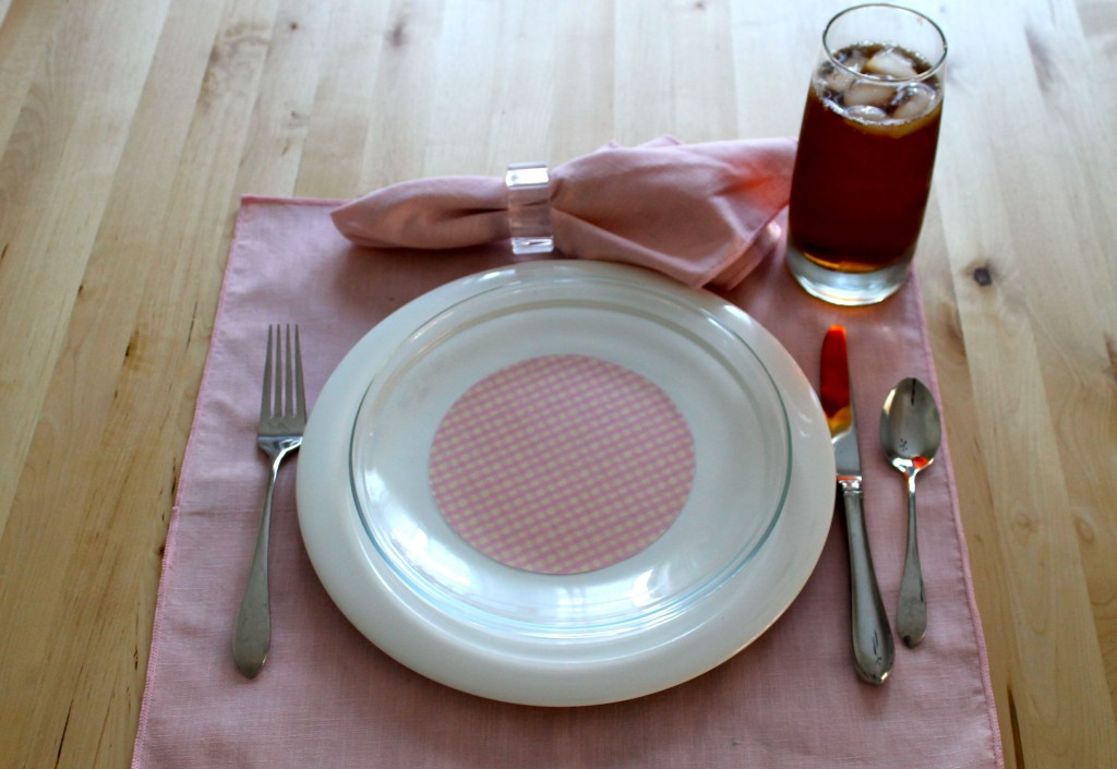 Plate pink 1024x705 - Change the Look of Your Dishes!