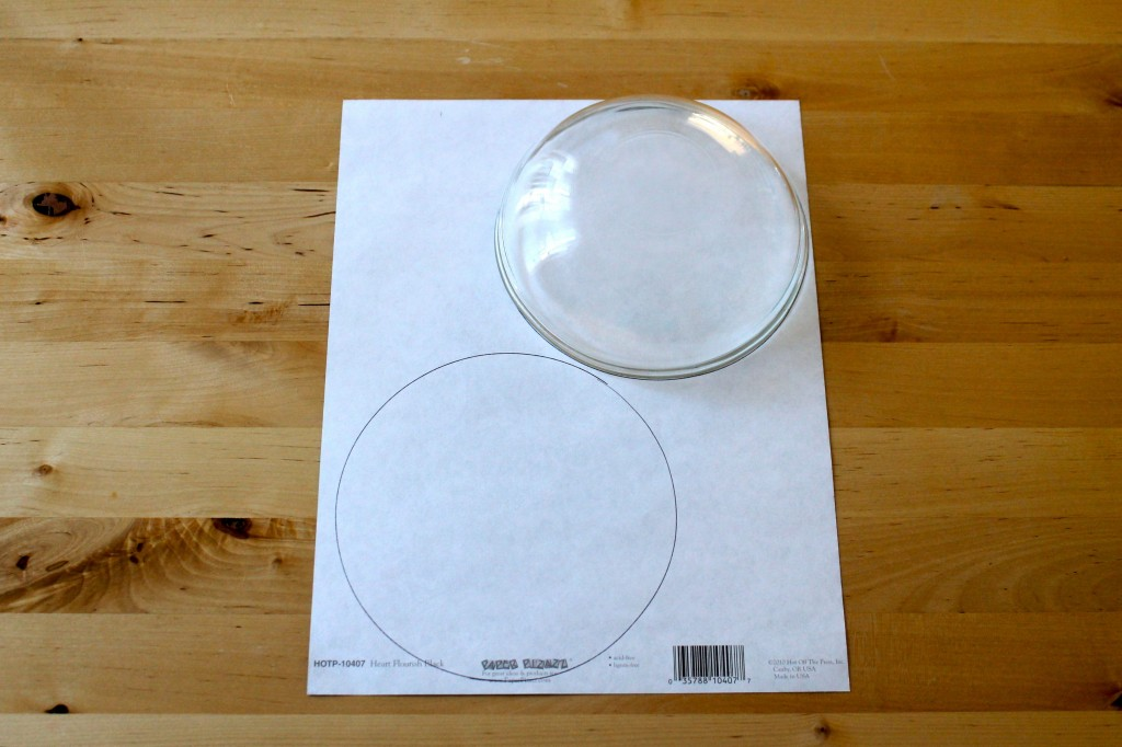 Plate tracing 1024x682 - Change the Look of Your Dishes!