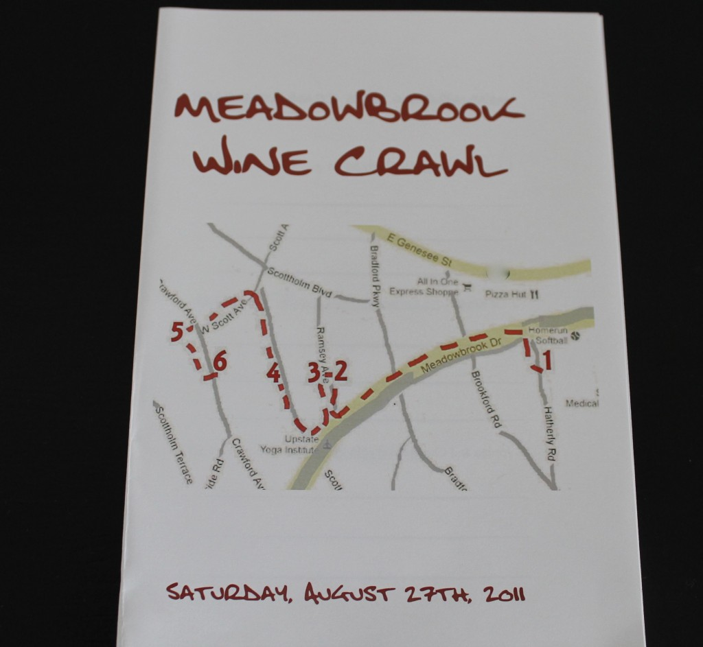 Wine crawl invite 1024x943 - Hosting a Wine Crawl
