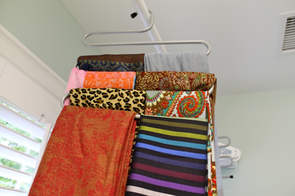 IMG 10611 1024x681 - How To Organize Your Scarves