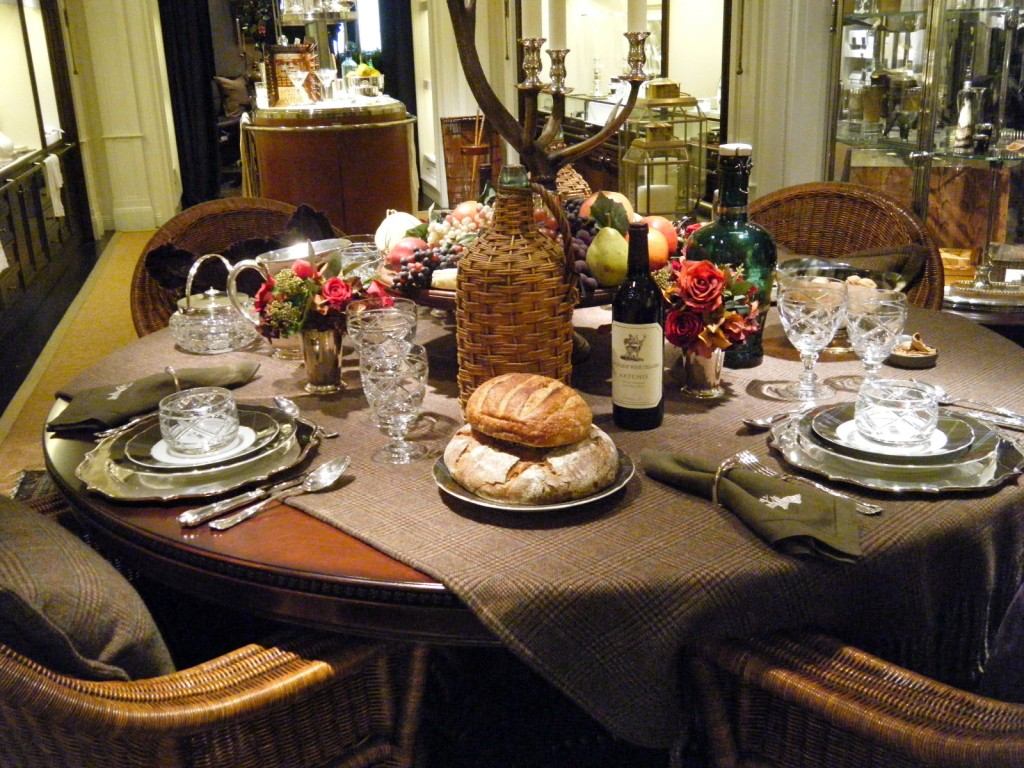 I Made Two Visits To The Store And Just By Accident Was Able To See His  Thanksgiving Table, And Two Days Later, I Saw His Christmas Table Which I  Will Share ...