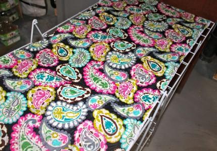 Dresser fabric drying 430x300 - Dresser fabric drying