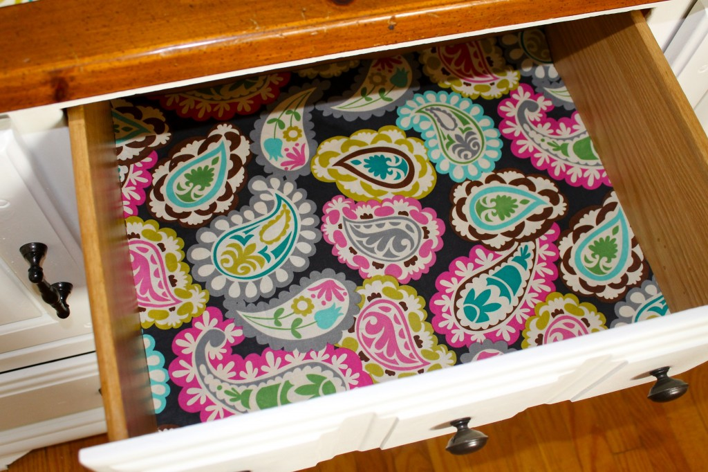 Dresser liner 1 1024x682 - Make Your Own Drawer Liners