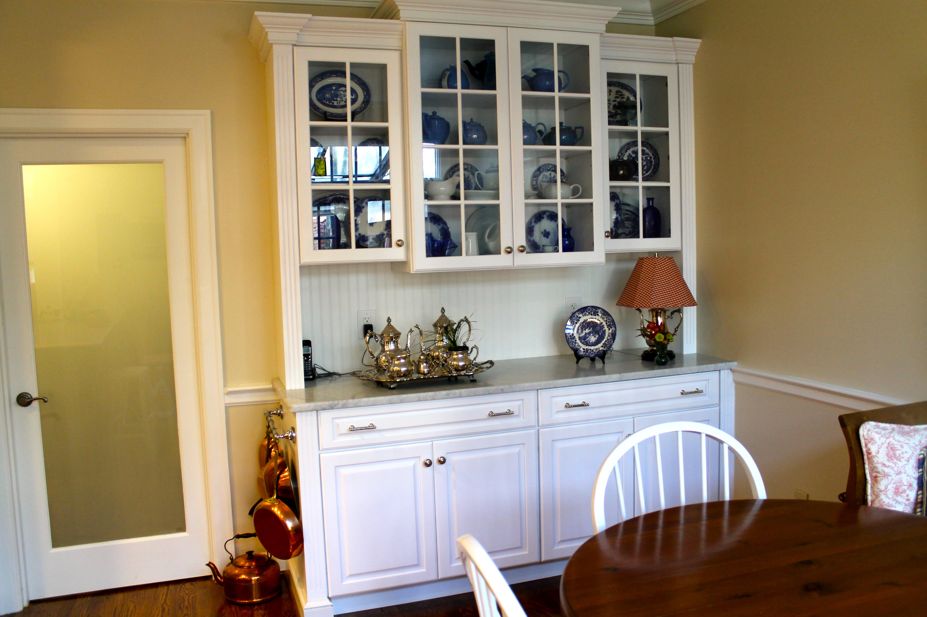 Built Ins On Pinterest China Cabinets Built In Buffet