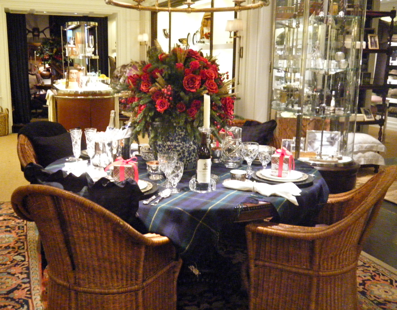 DSCF2616 - Ralph Lauren's Christmas Table