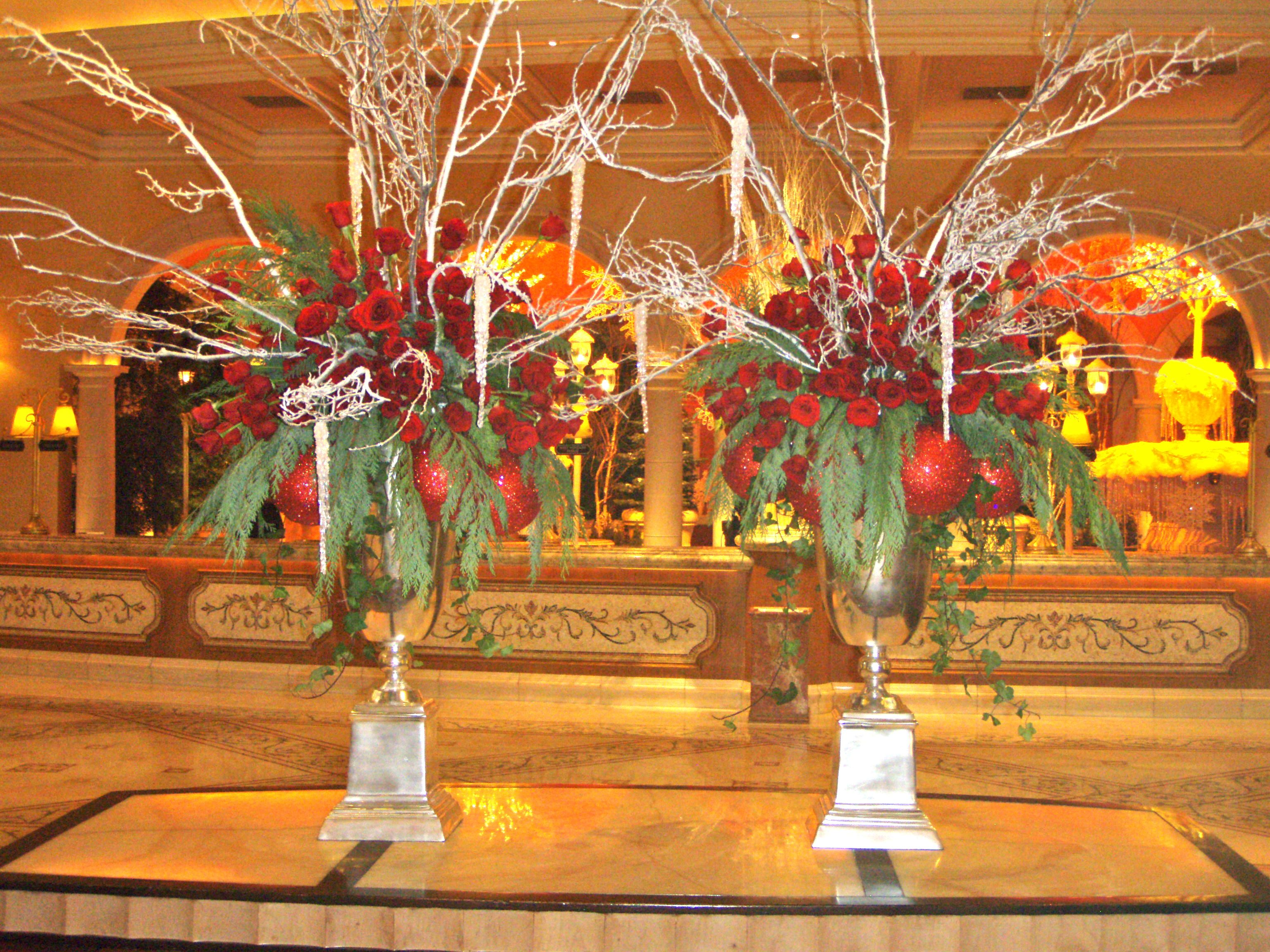 Flowers In The Hotel Lobby The 2 Seasons