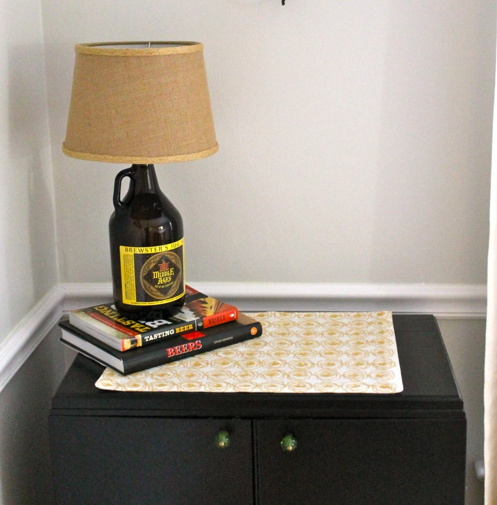 Beer After 2 1008x1024 - How to Make a Growler Lamp
