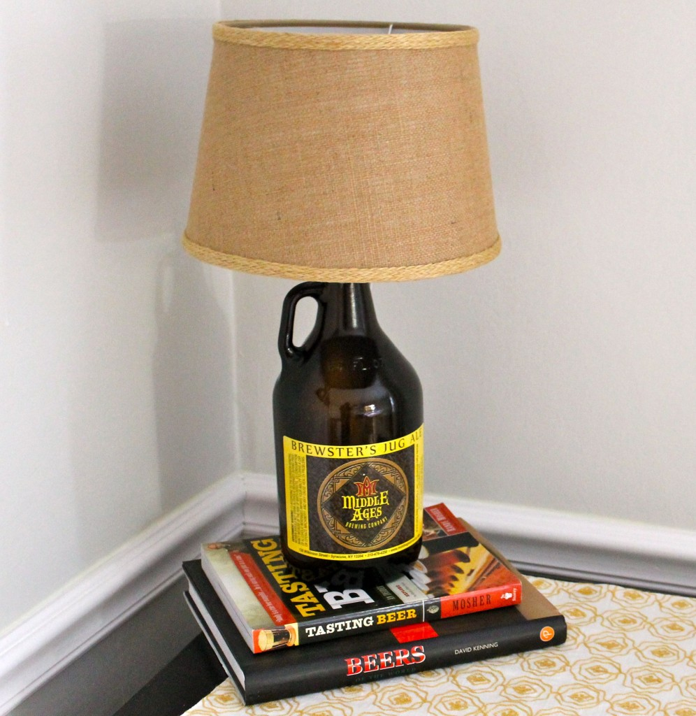 Beer After 996x1024 - How to Make a Growler Lamp