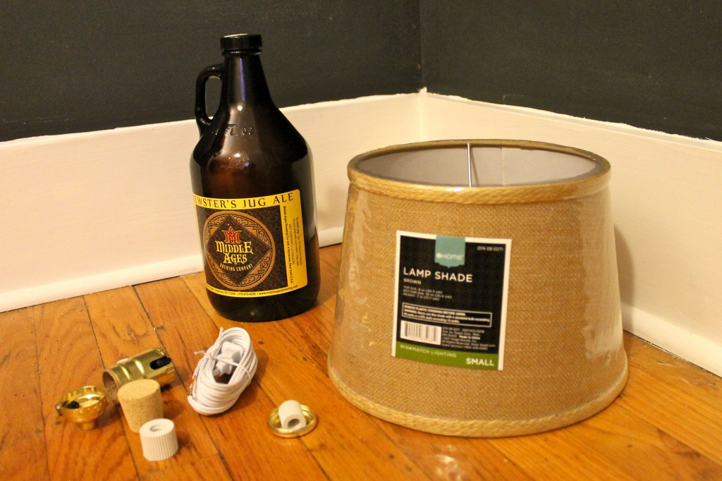 Beer before 1024x682 - How to Make a Growler Lamp