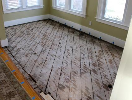 Floor cleared 425x323 - Sub floor