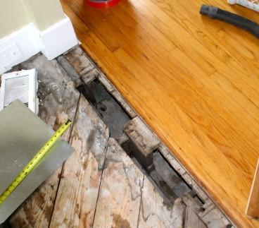 Floor hole 368x323 - Holes in sub floor