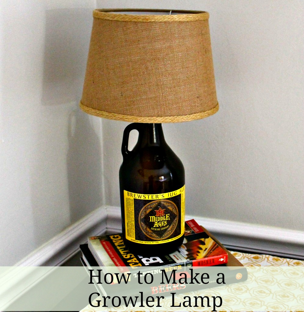 How to Make a Growler Lamp
