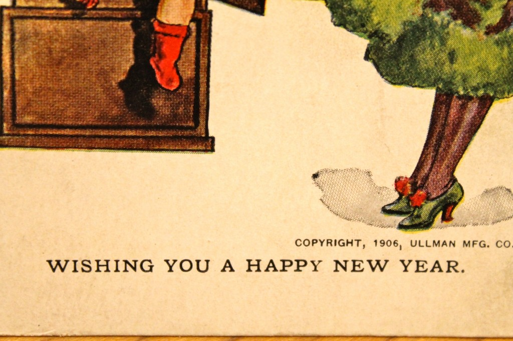 IMG 1543 1024x681 - Vintage Post Cards as Cheap Art