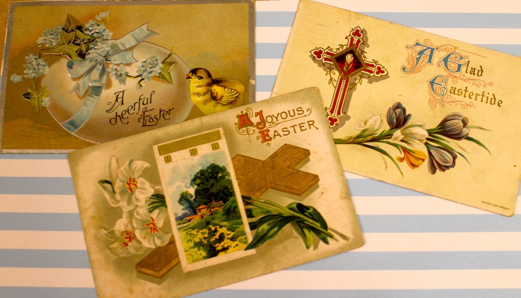 IMG 1545 1024x587 - Vintage Post Cards as Cheap Art