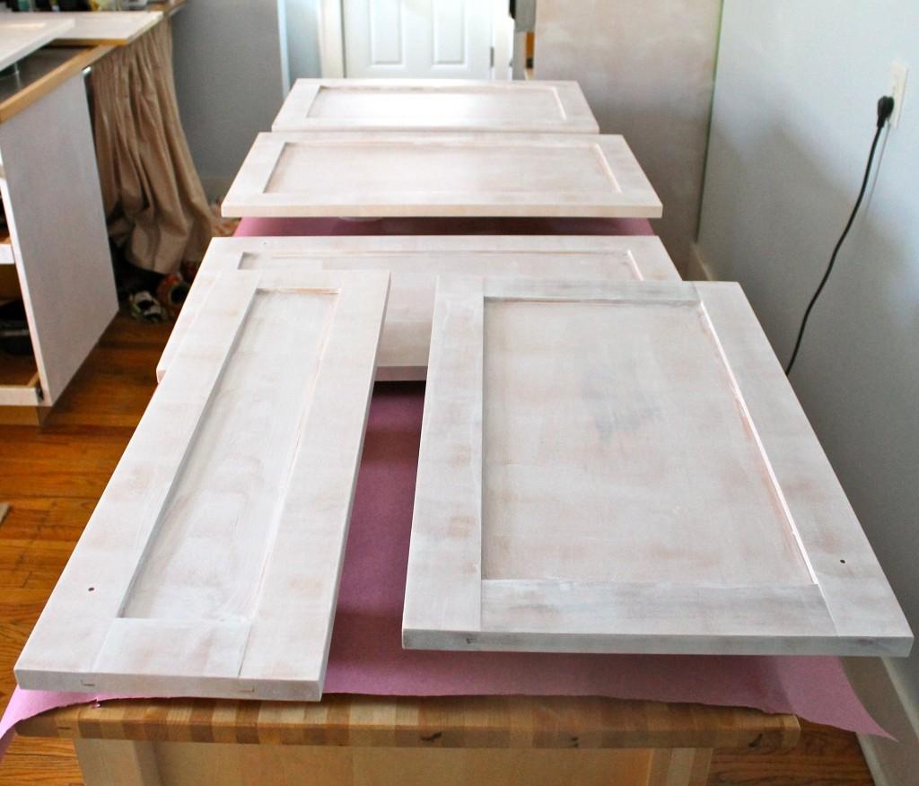 Doors with primer