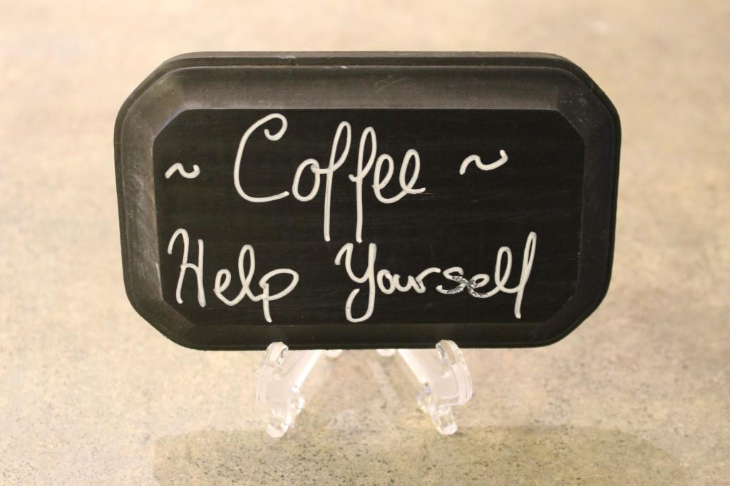 Chalkboard coffee 1024x682 - Wooden Chalkboard
