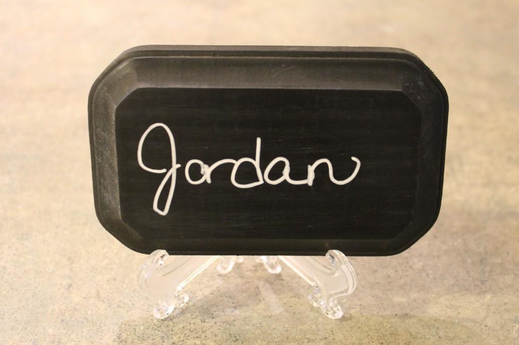 Chalkboard name 1024x682 - Wooden Chalkboard