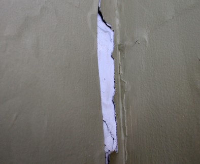 Hole before 394x323 - Patching a hole