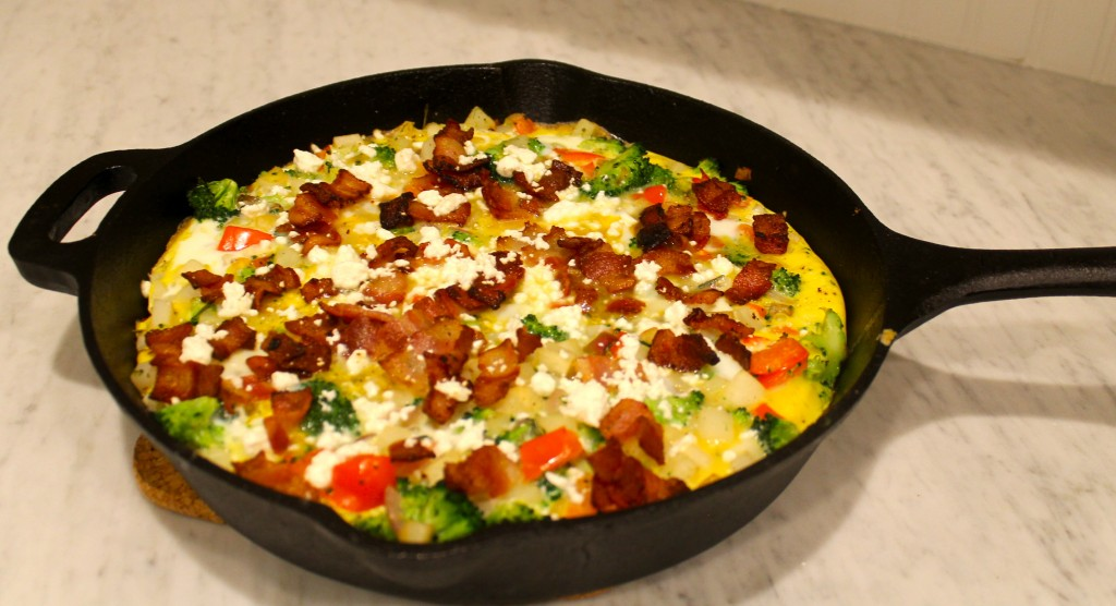 IMG 18201 1024x556 - Vegetable Frittata