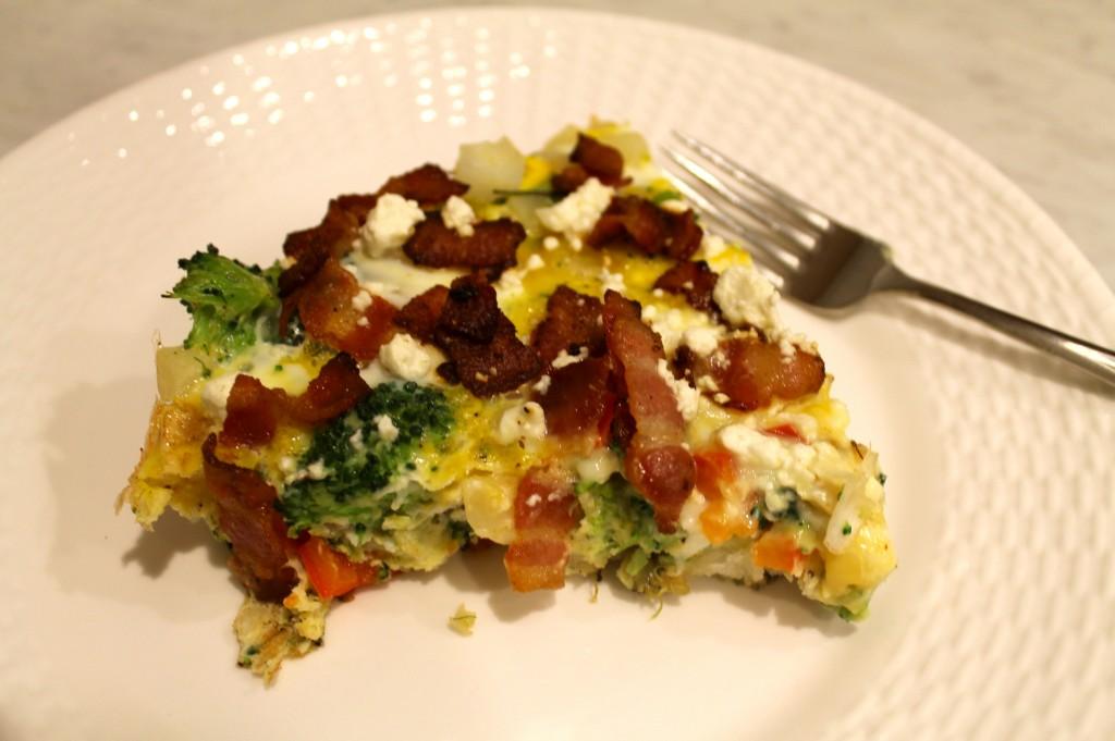 IMG 1822 1024x681 - Vegetable Frittata