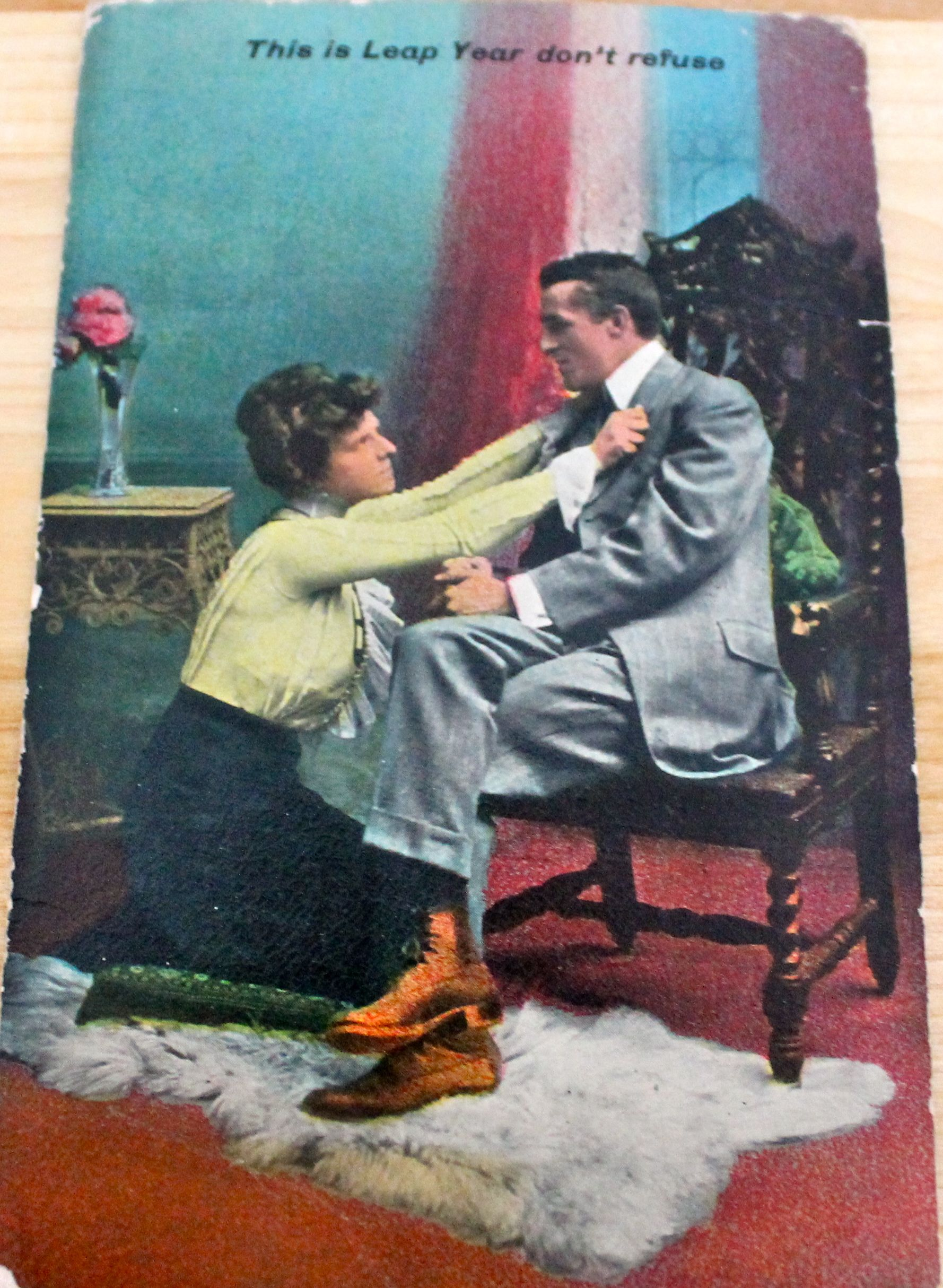 Leap Year - Happy New Year, 1908