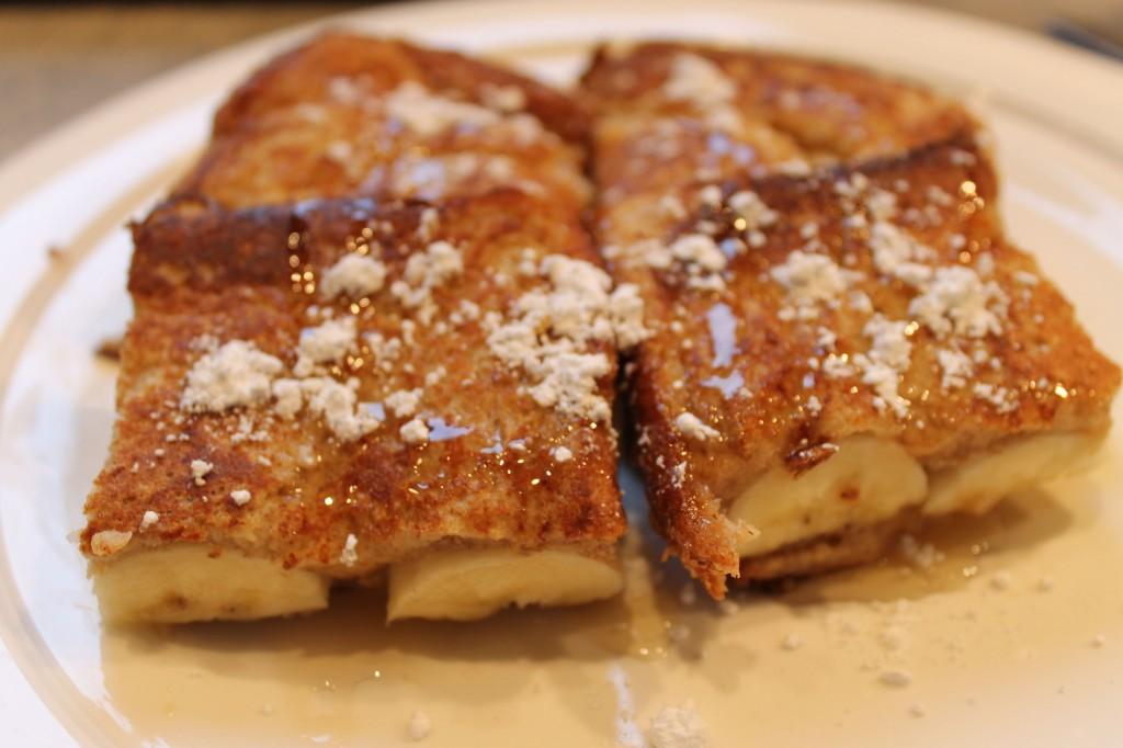 Food 3 1024x682 - Banana Breakfast Sandwich