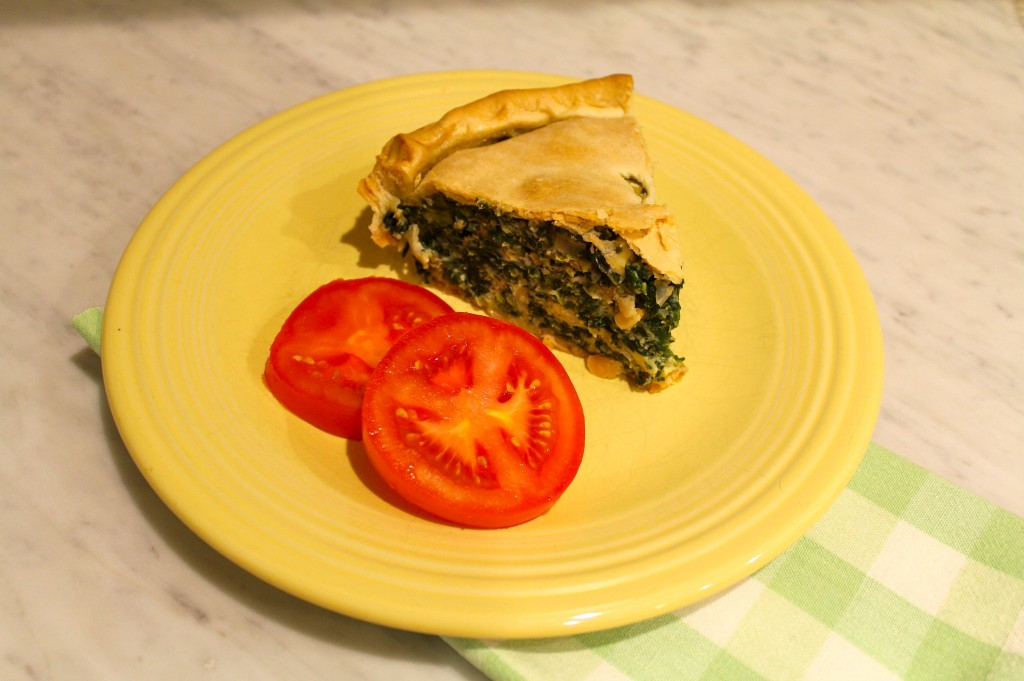 IMG 1868 1024x681 - Spinach Pie for Meatless Friday