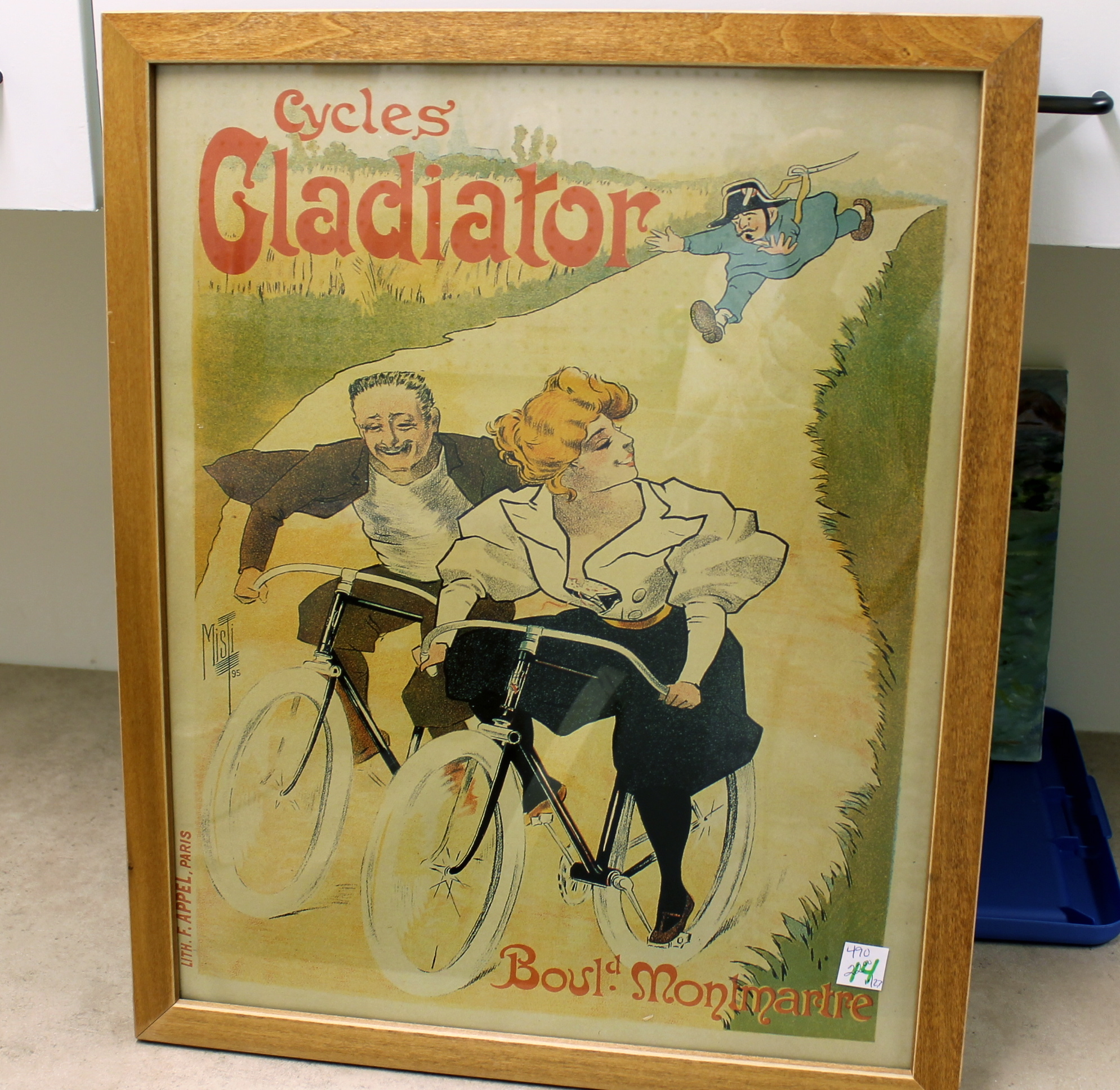 IMG 2076 - Cycles Gladiator Poster Bargain