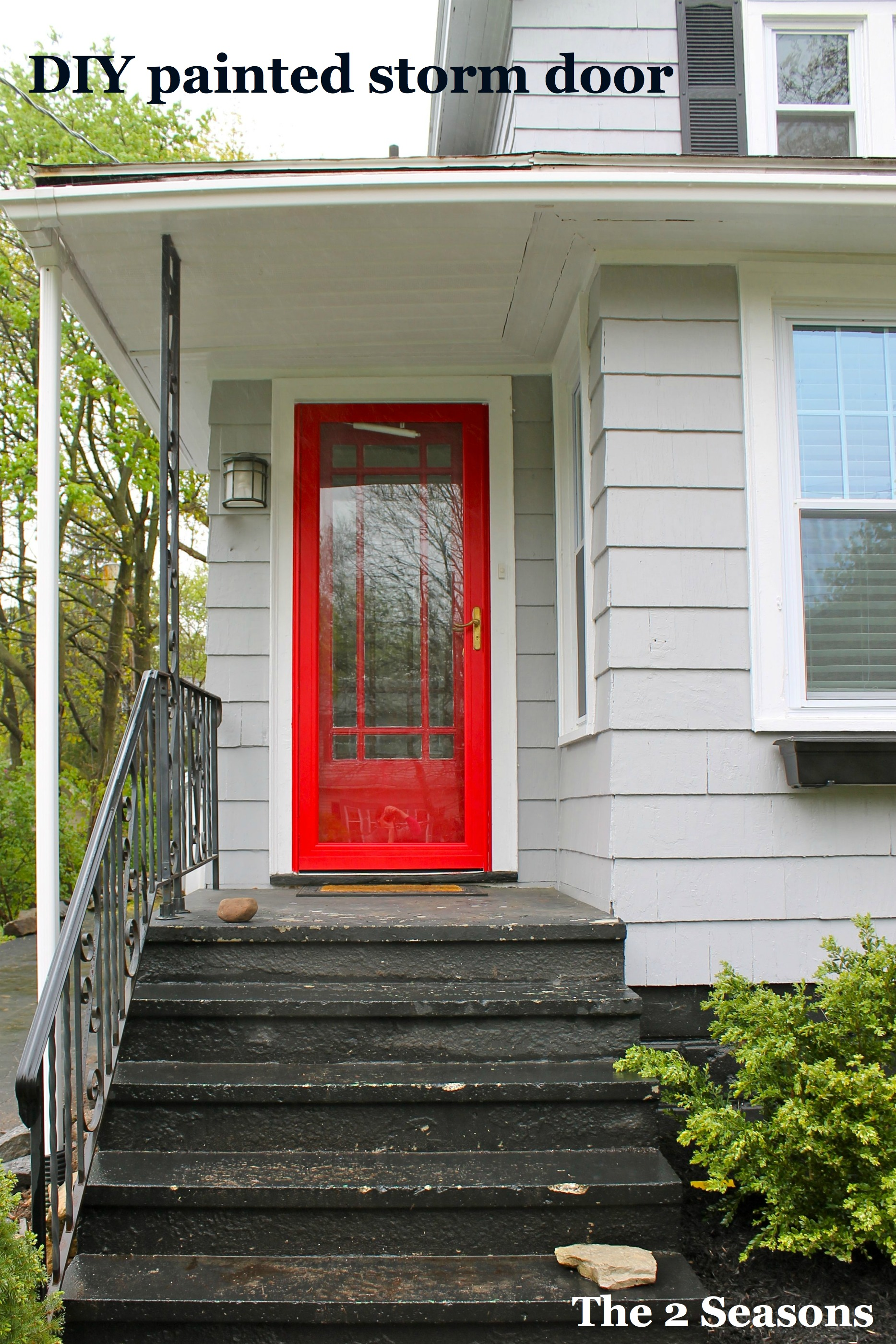 2800 #B2191A Painted Storm Door The 2 Seasons picture/photo Best Paint For Exterior Doors 39091867
