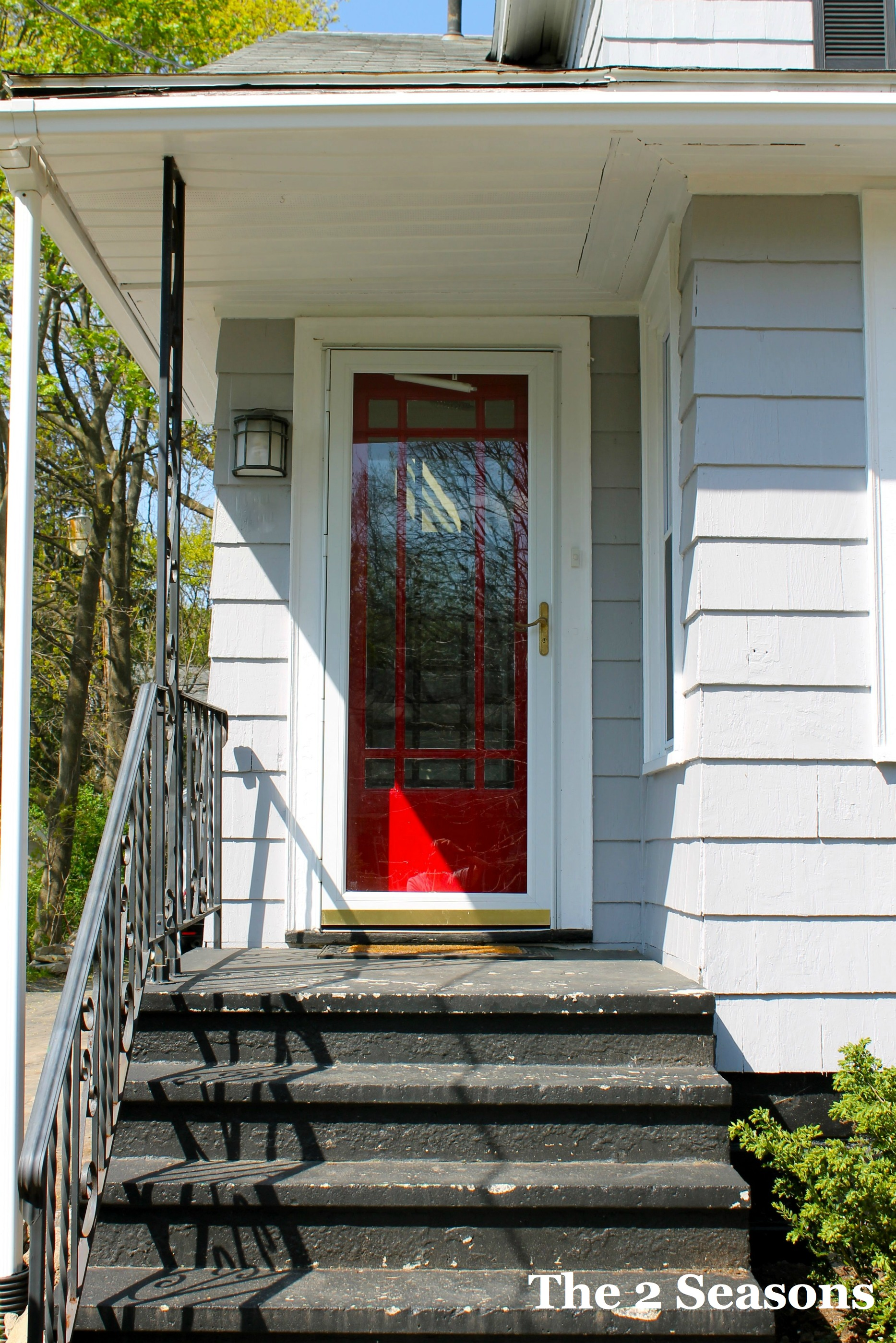 New Door - Red Door Squared