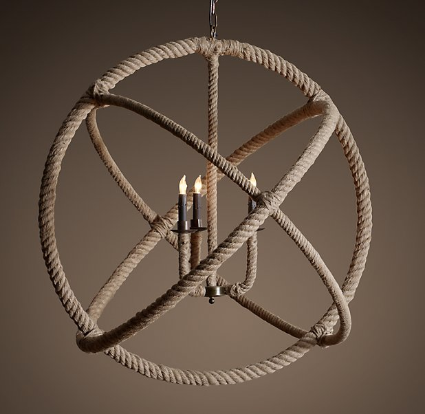 Restoration hardware rope chandelier the 2 seasons restoration hardware rope chandelier aloadofball Gallery