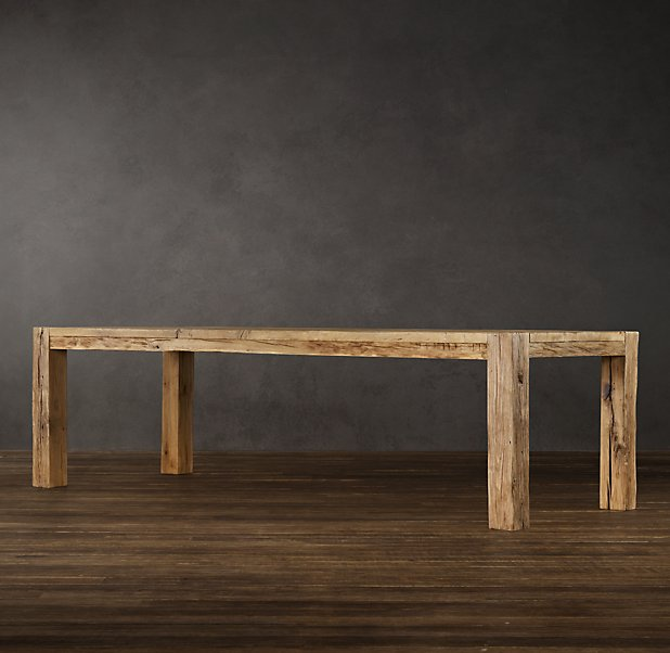 RH table - Restoration Hardware Eye Candy