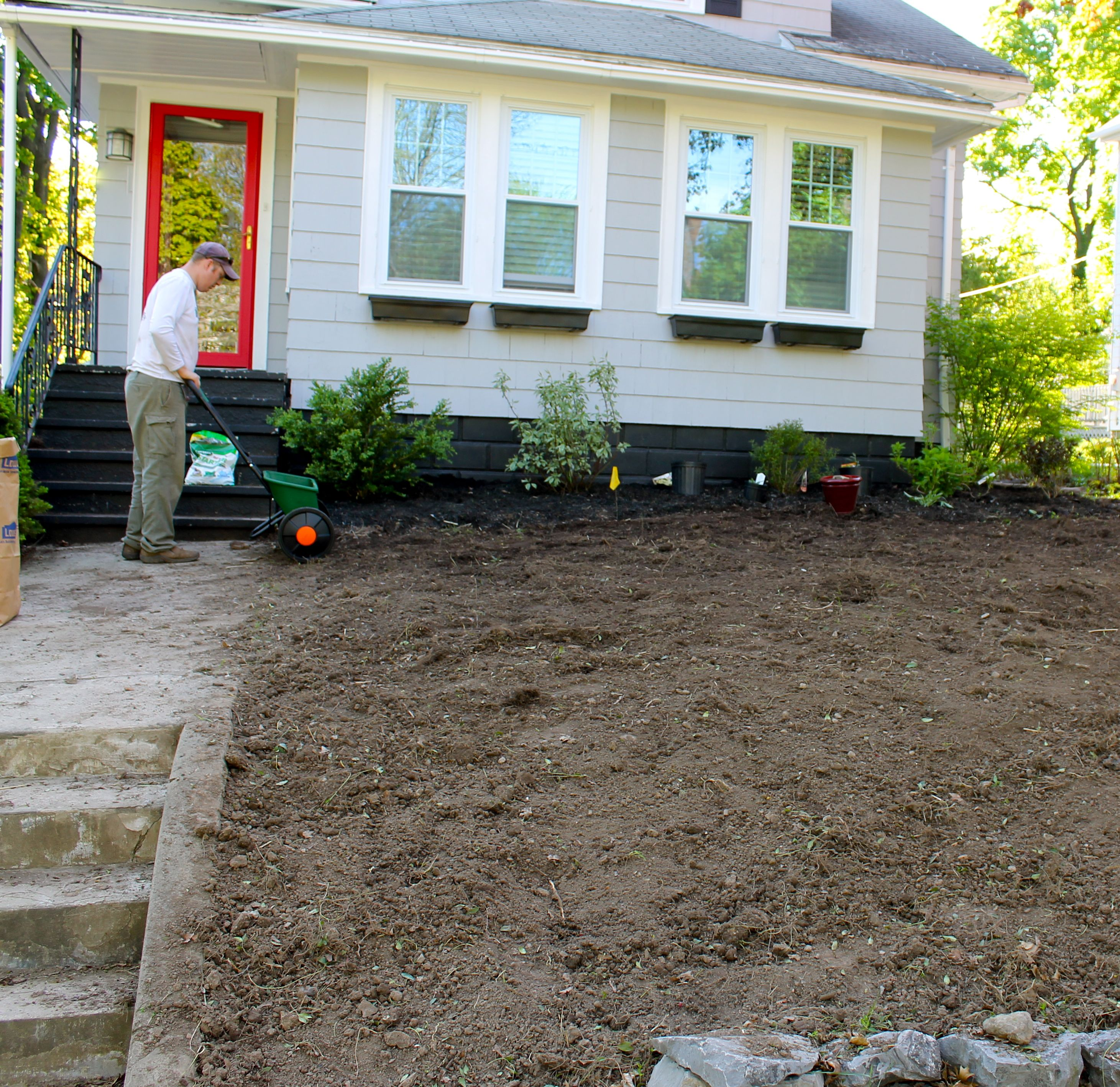 Tilling Backyard: The 2 Seasons