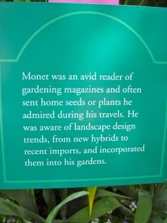 Garden sign 242x323 - Monet's Garden
