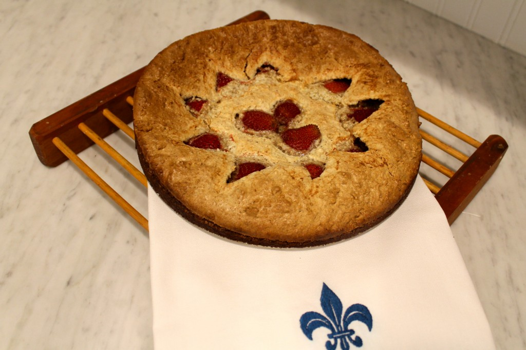 IMG 2639 1024x681 - Strawberry Frangipane