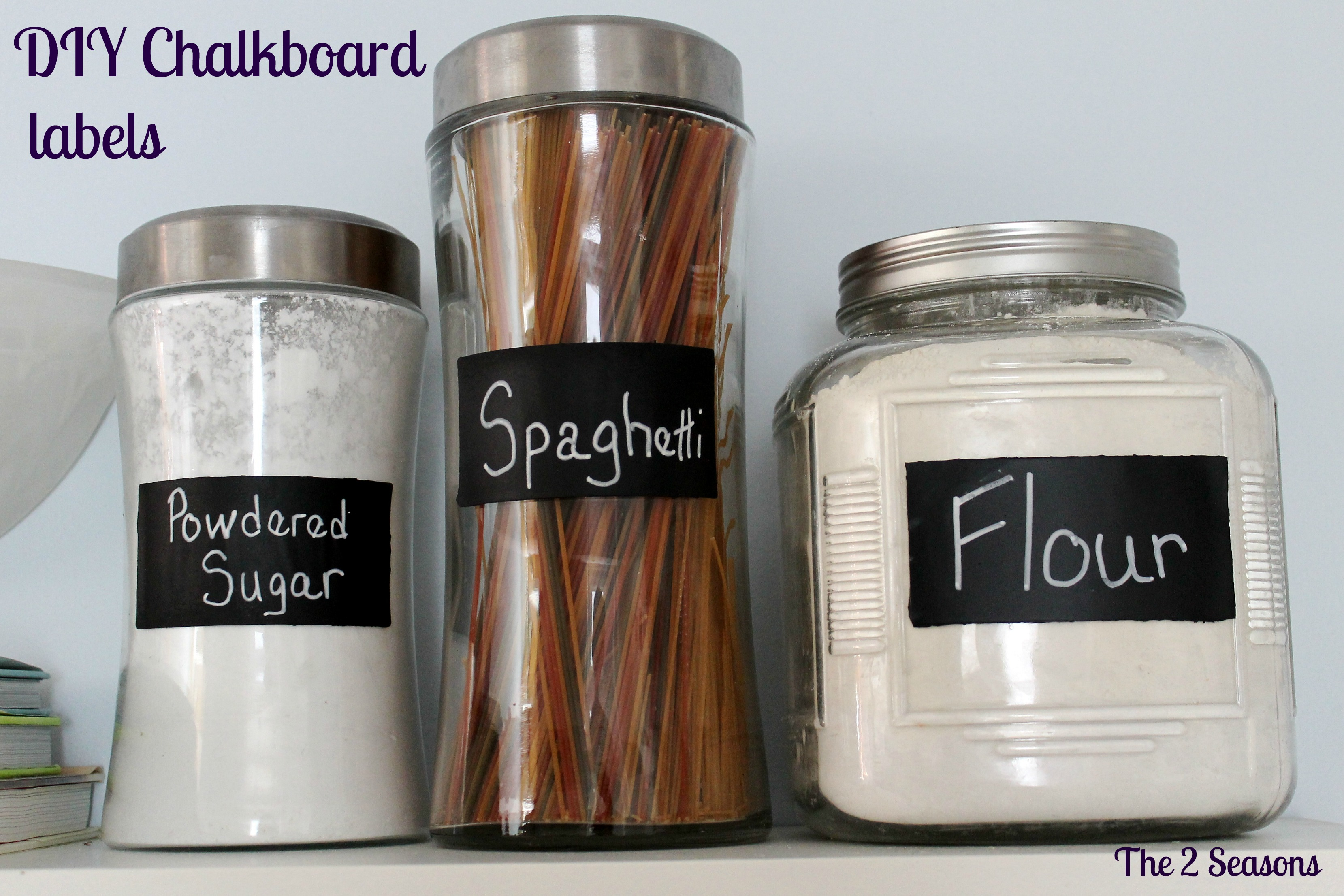 Labels New - DIY Chalkboard Kitchen  Labels